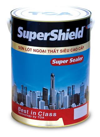 SƠN LÓT TOA NGOÀI TRỜI CAO CẤP TOA SUPERSHIELD - 5L