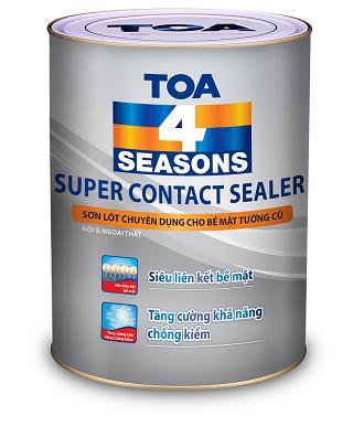 SƠN LÓT TOA GỐC DẦU TOA 4 SEASONS SUPER CONTACT SEALER - 5L